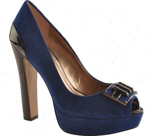Bcbgeneration Jennifer (women's) - Azul/azul Kidskin Suede/patent