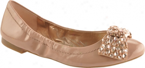 Bcbgeneration Luckies (women's) - Mauve Glow/beige Casual Pateent/grosgrain