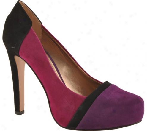 Bcbgeneratiom Perrries (women's) - Grape/black/fuchsia Kidskin Suede
