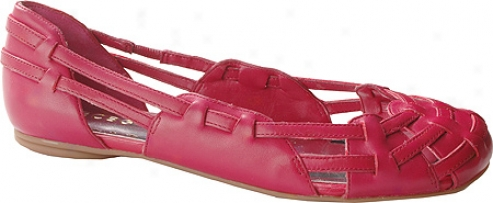 Bcbgirlx Gentle (women's) - Rose Red Raw Leather