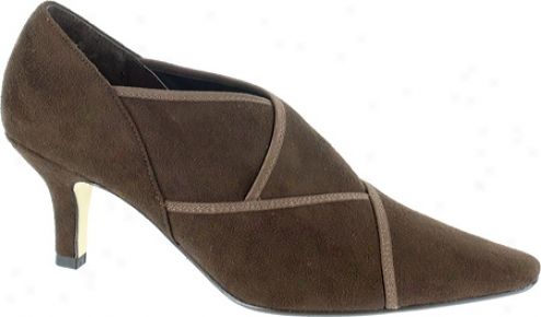 Bella Vita Carmel Ii (women's) - Brown Stretch Suede