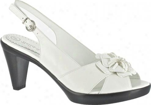 Bella Vita Dahlia (women's) - White Leather