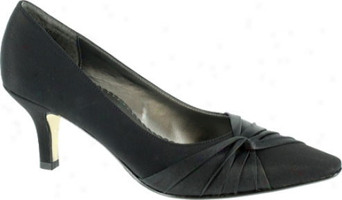 Bella Vita Geyser (women's) - Black Peau/satin