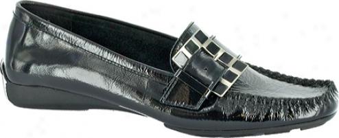 BellaV itta Soulmate (women's) - Black Crinkle Patent Leather