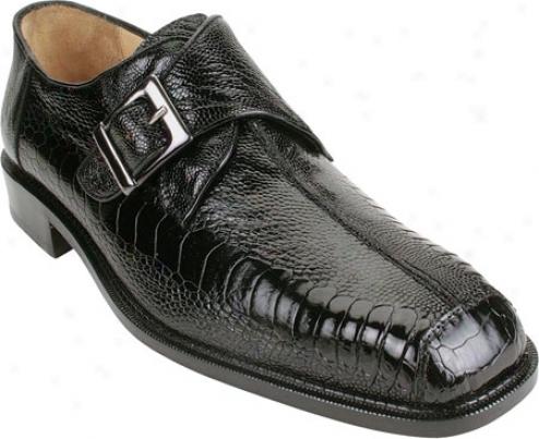 Belvedere Dolce (men's) - Black Ostrich