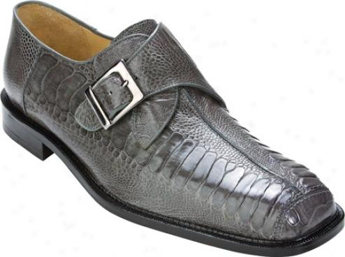 Belvwdere Dolce (men's) - Gray Ostrich