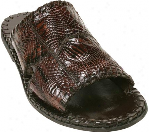 Belvedere Palma (men's) - Brown Alligator