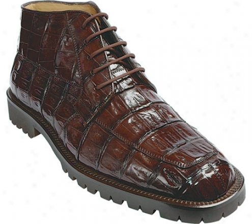 Belvedere Ugo (men's) - Brown Crocodile
