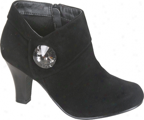 Beston Novae-02 (women's) - Black Suede
