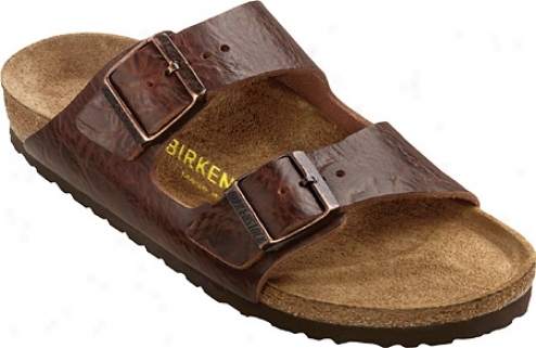 Birkenstock Arizona Leather - Cortina Brown Leather