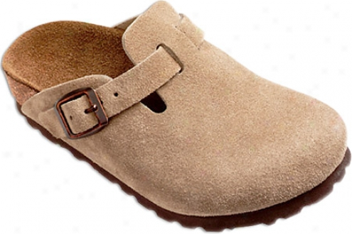 Birkenstock Boston Suede (children's) - Taupe Suede