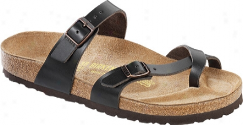 Birkenstock Mayari Leather (women's) - Hunter Brown