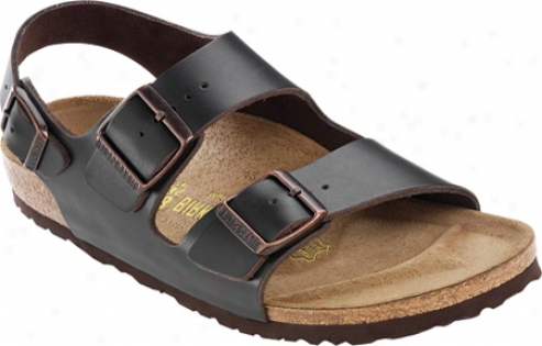 Birkenstock Milano Leather - Hunter Brown Leather