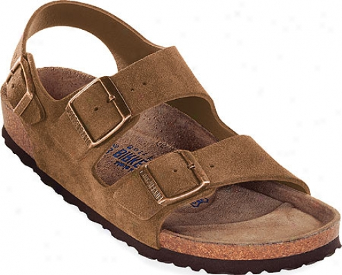 Birkenstock Milano Nubuck By the side of Soft Footbed - Cocoa Nubuck With Soft Footbed