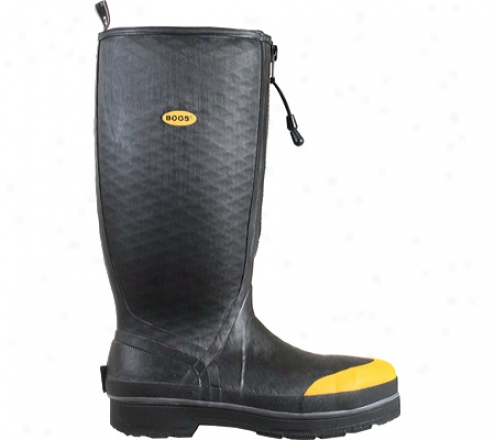 Bogs Industrial High Boot Steel Toe (men's) - Black