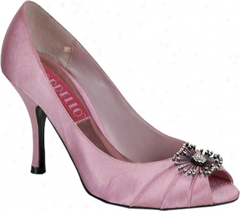 Bordello Violette 06 (women's) - Baby Pink Satin