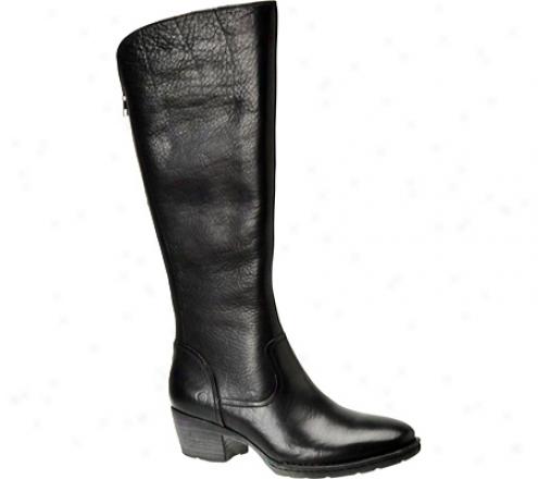 Born Bitsy (women's) - Black Full Grain Leather