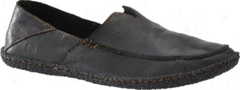 Born Stewie (men's) - Black Full Grain Leather