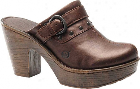 Born Wenonah (women's) - Dark Brown Full Grain Leather