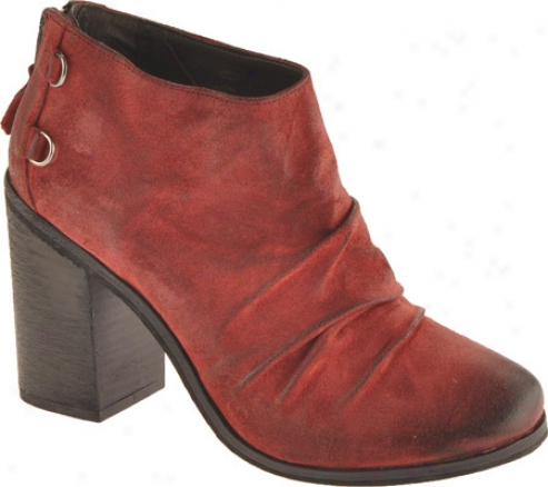 Boutique 9 Shale (women's) - Red Suede