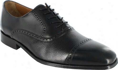 Brass Boot Chauncey (men's) - Black Deerskin/smooth Leather