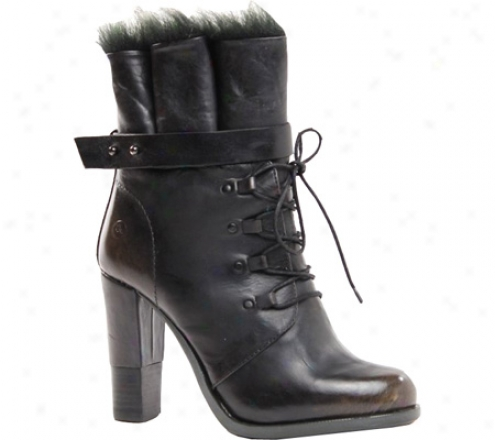 Bronx Cast Away (women's) - Black Leather