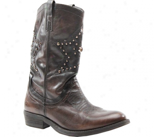 Bronx Ticko Taco (women's) - Ebony Leather