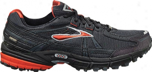Brooks Adrenaline Asr Gtx (men's) - Cherry Tomato/black/silver/shadow