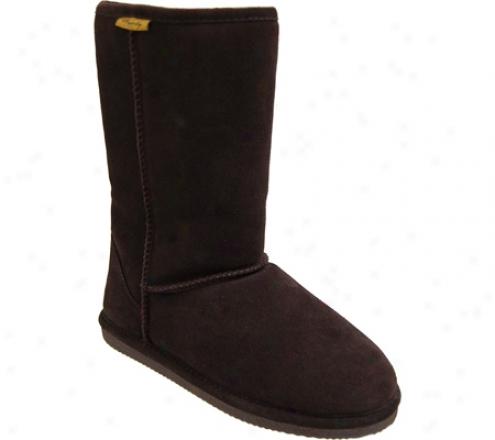Brumby Australia Shearljng Sheepskin Flat Sole Boots (women's) - Chocolate