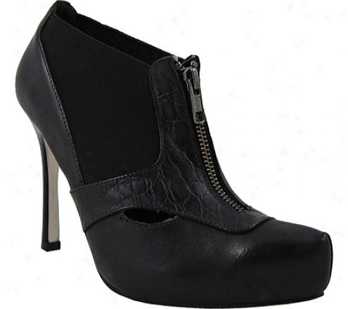 Bruno Menegatti 1433204 (women's) - Soft Black/black Croco
