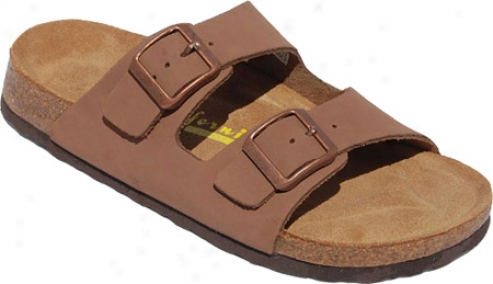 California Footwear Co. Santa Cruz (women's) - Brown Nubuck