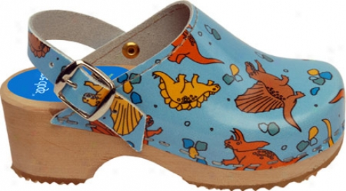 Cape Clogs Dinosaur (children's) - Blue/multi