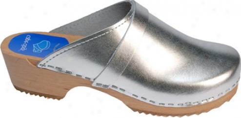 Headland Clogs Solids - Silver