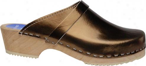 Cape Clogs Solids (women's) - Bronze
