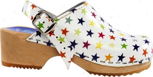 Cape Clogs Stars (infants') - White/multicolored