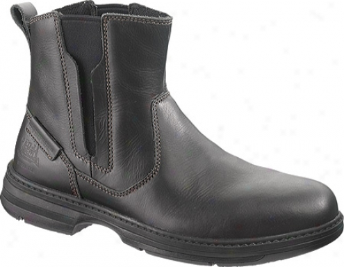 Caterpillar Consort Steel Toe (men's) - Black