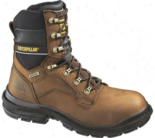 """caterpillar Generator 8"""" Waterproof (men's) - Dark Brown"""