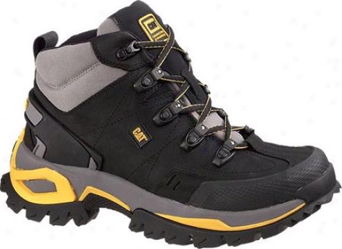 Caterpillar Interface Hi Steel Toe (men's) - Black