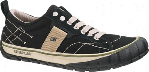 Caterpillar Neder Canvas (men's) - Black
