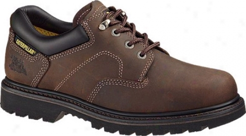 Caterpillar Ridgemont Steel Toe (men's) - Gloomy Brown