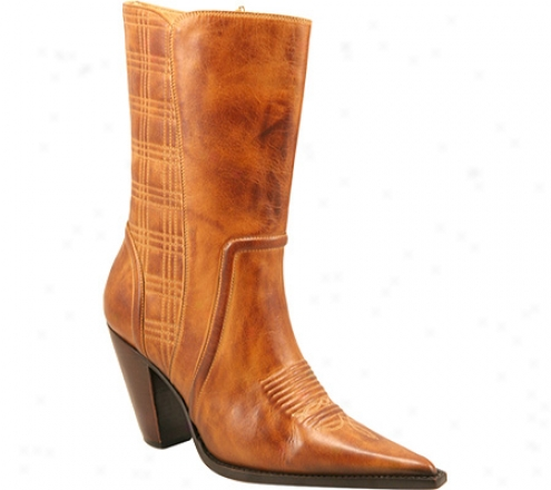 Charlie 1 Horse By Luccnese I4830 (women's) - Golden Tan Calf