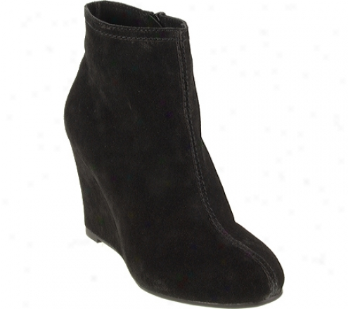 Chinese Laundry At Once (women's) - Black Split Suede