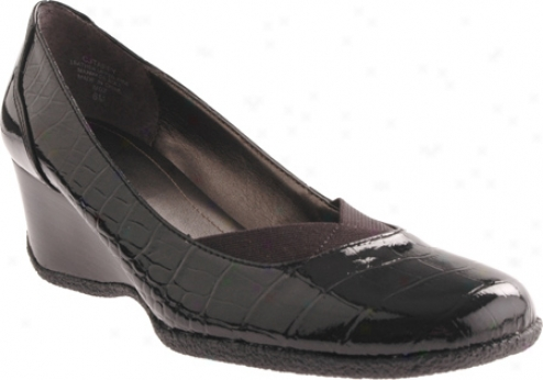 Circa Joan & David Taffy (women's) - Black Multi Croc