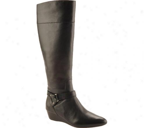 Circa Joan & David Yvet (women's) - Black Leather