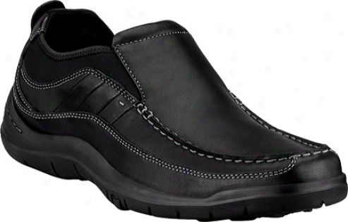 Clarks Axl (men's) - Negro Leather