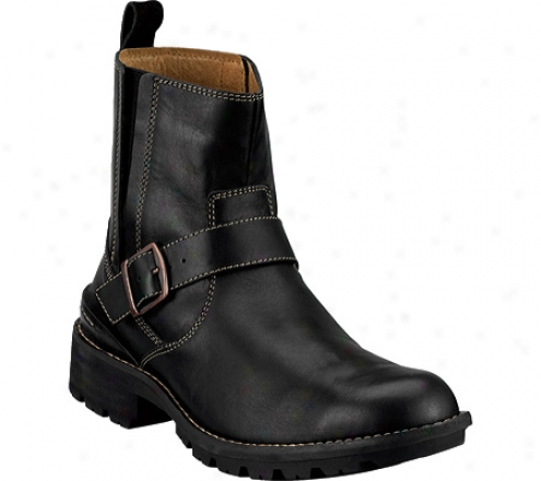 Clarks Chilton (men's) - Black Leather