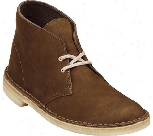 Clarks Ecostyle Desert Boot (men's) - Chocolate Nubuck