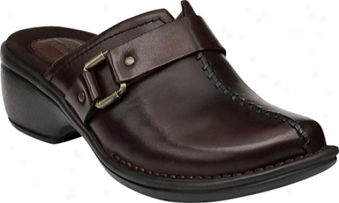 Clarks Mill Point (women's) - Dark Brown Leather