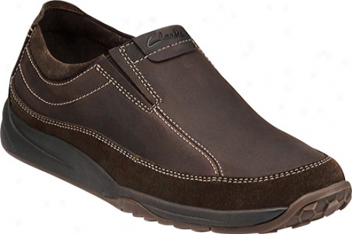 Clarks Oneonta (men's) - Brown Leather