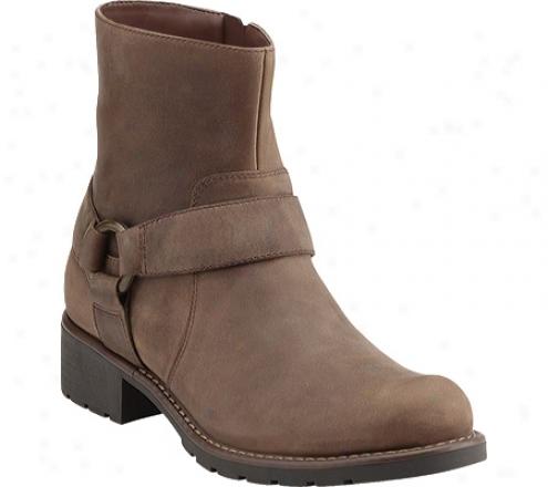 Clarks Orinocco Dip (women's) - Stone Oily Leather